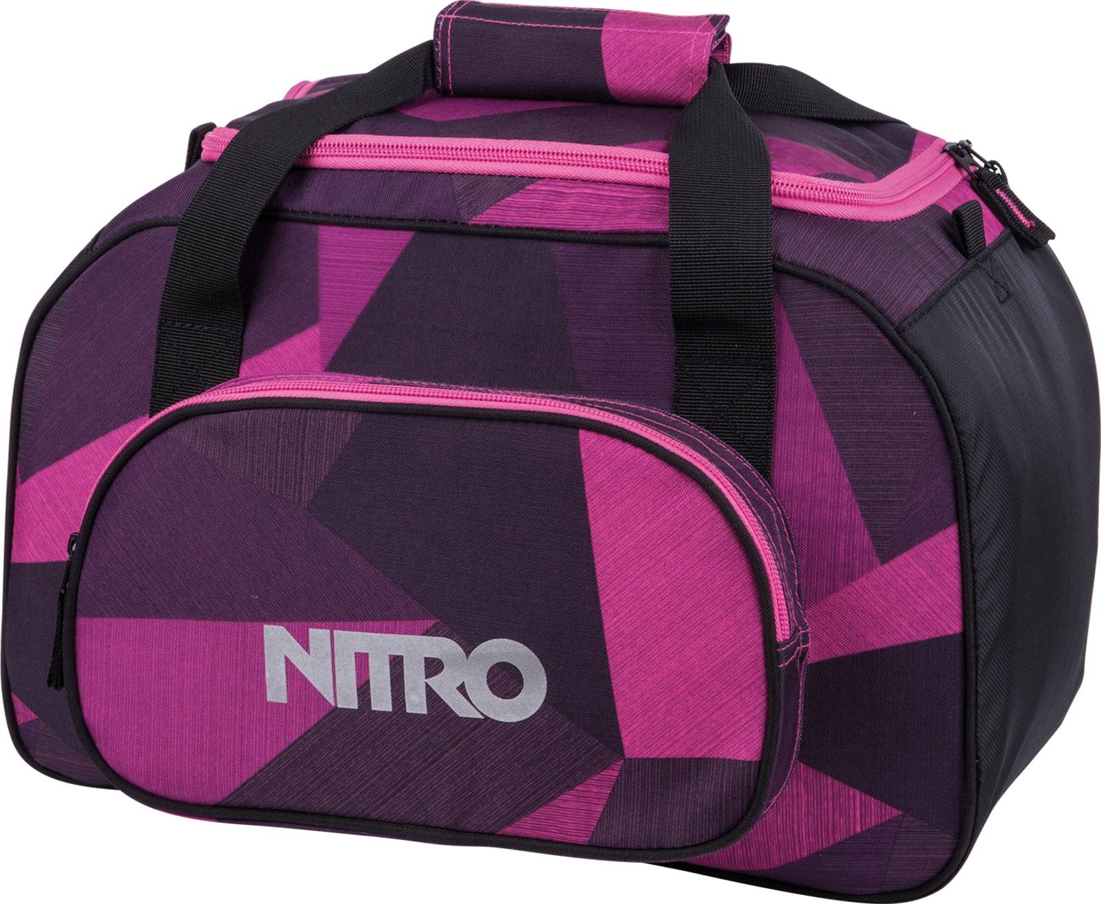 Nitro taška Team Duffle BAG XS fragments purple 35L