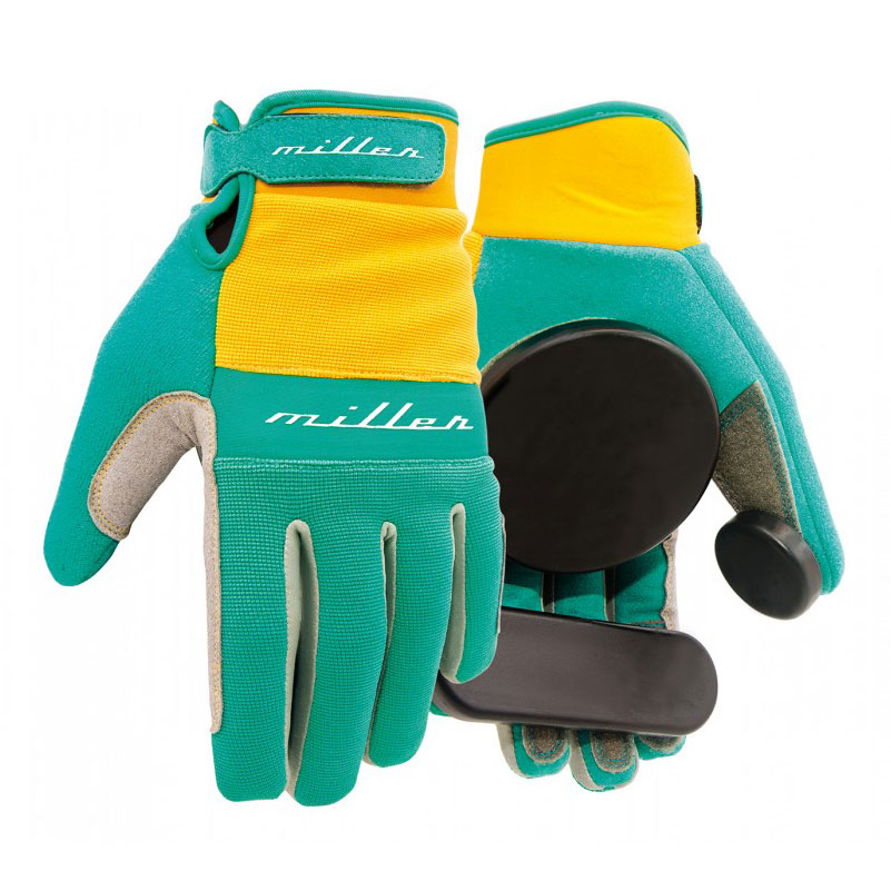 Miller rukavice na longboard Freeride Turquoise S
