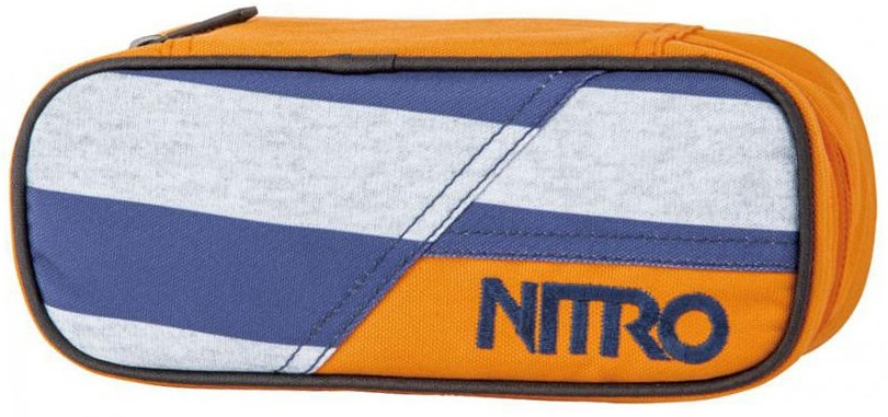 NITRO PENÁL PENCIL CASE heather stripe