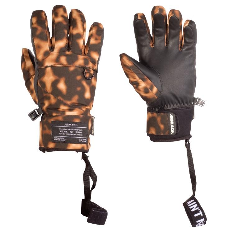 Armada zimní rukavice dámské W'S Agency Gore-Tex glove tortoise shell 16/17 Velikost: S