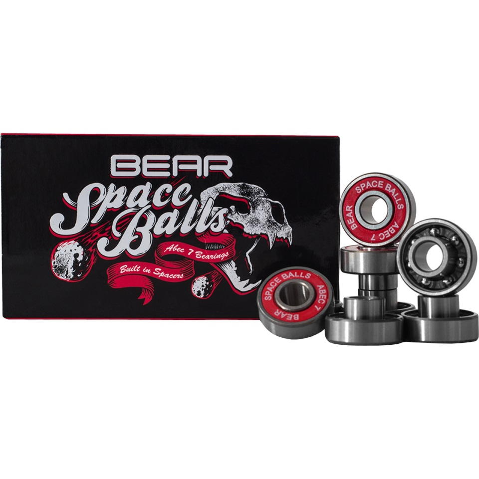 Bear Trucks Ložiska Bear Spaceballs longboard ABEC 7 bearings