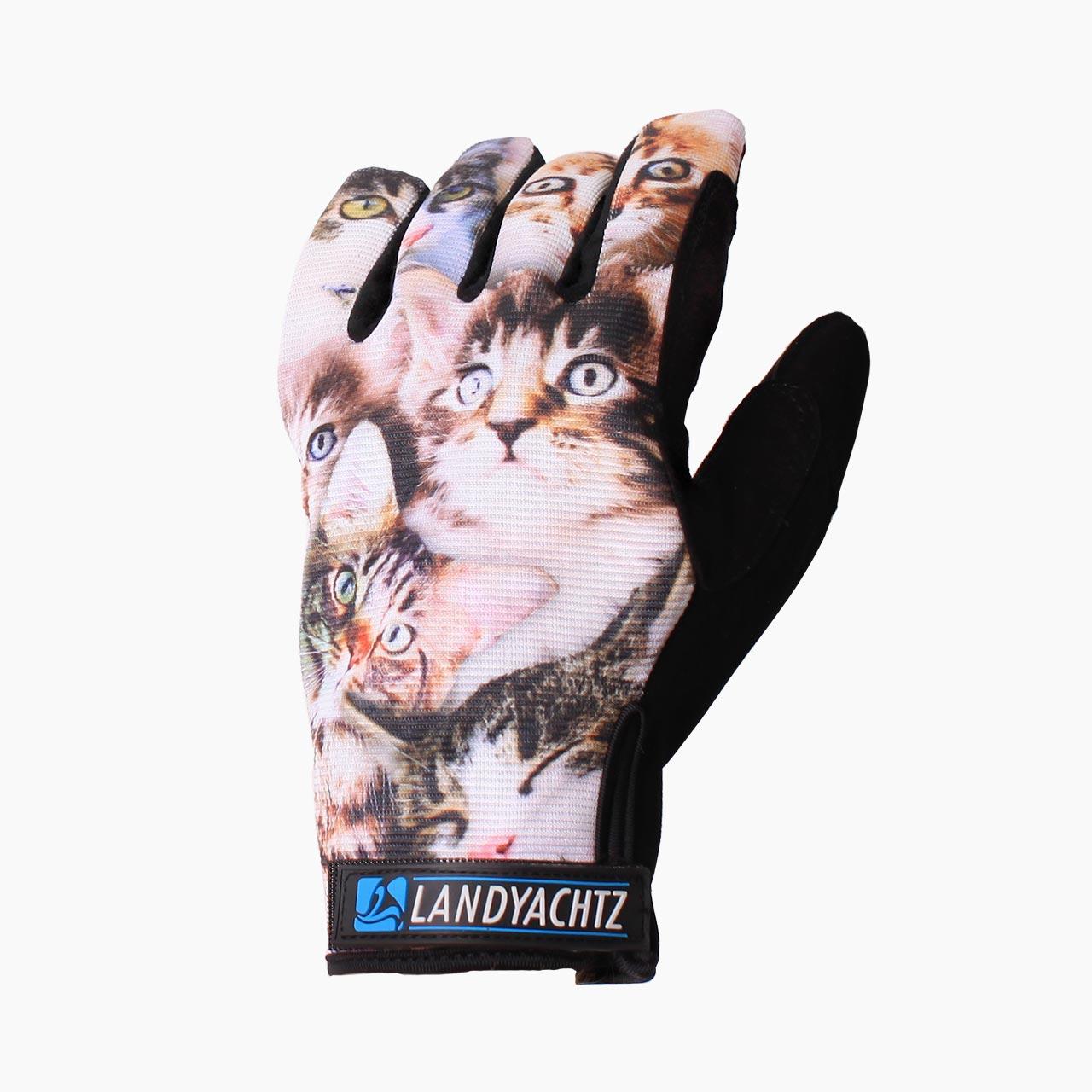 Landyachtz rukavice na longboard Cats slide gloves S