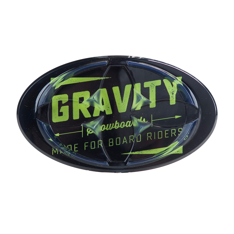 Gravity grip na snowboard Jeremy Mat black lime