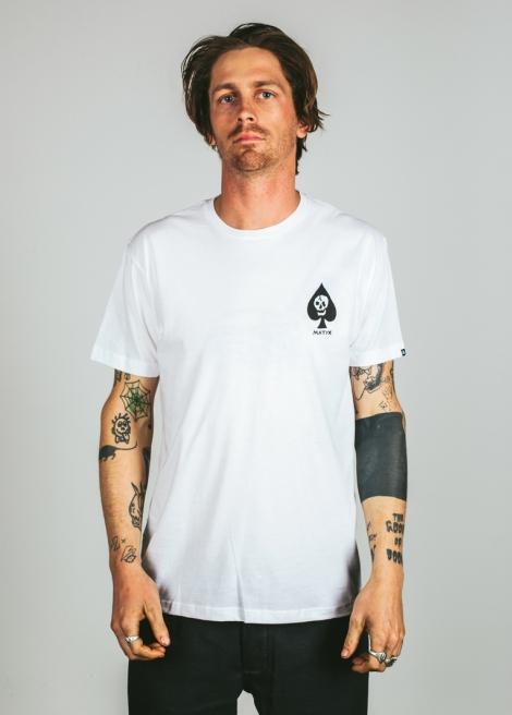 Matix tričko DFA 74 T-Shirt white Velikost: S