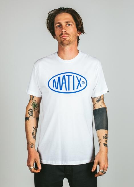 Matix triko Station T-Shirt white Velikost: L