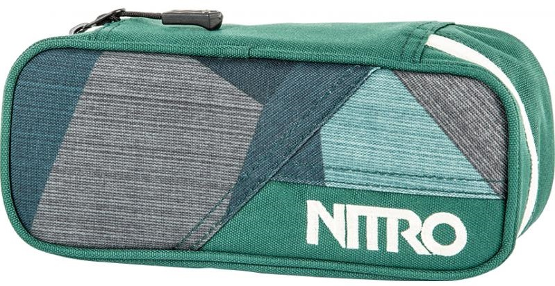 Nitro penál Pencil Case fragments green