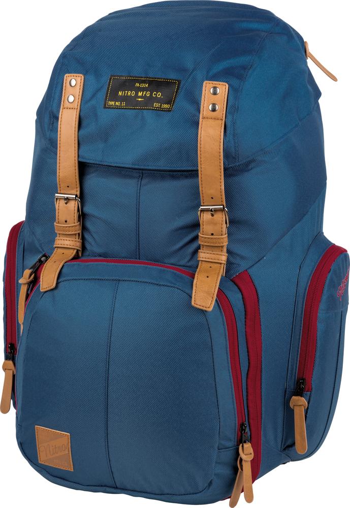Nitro batoh Weekender blue 42L + doprava zdarma