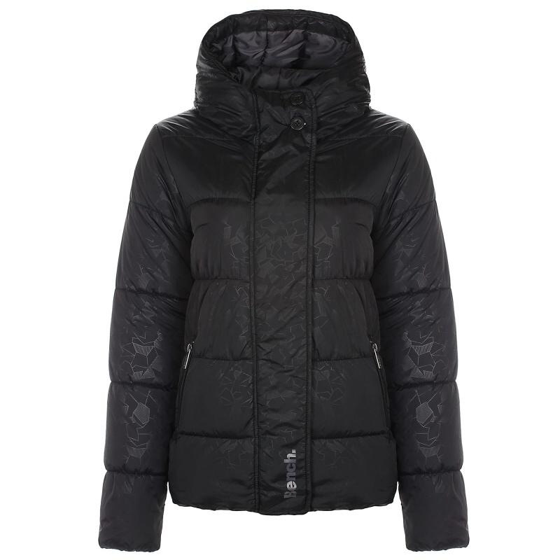 Bench dámská zimní bunda Boomster Black Velikost: S Doprava zdarma