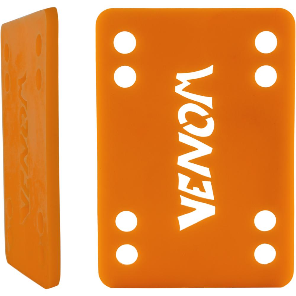 """Venom podložky na longboard Riser Pads orange 1/8"""" 3mm 2ks"""