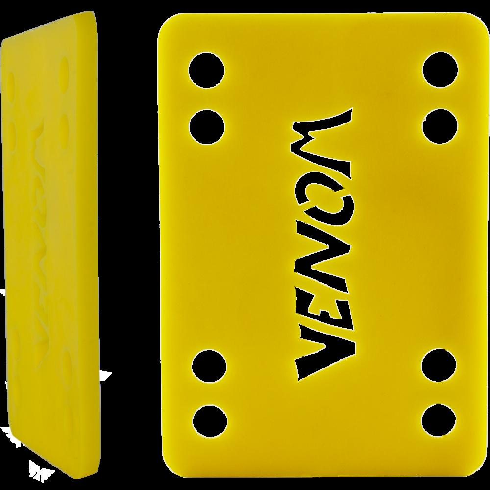 "Venom podložky na longboard Riser Pads Yellow 1/8"" 3mm 2ks"