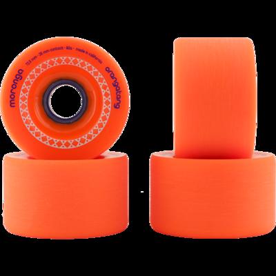 Orangatang kolečka Moronga 72,5 mm 80a wheels 4ks