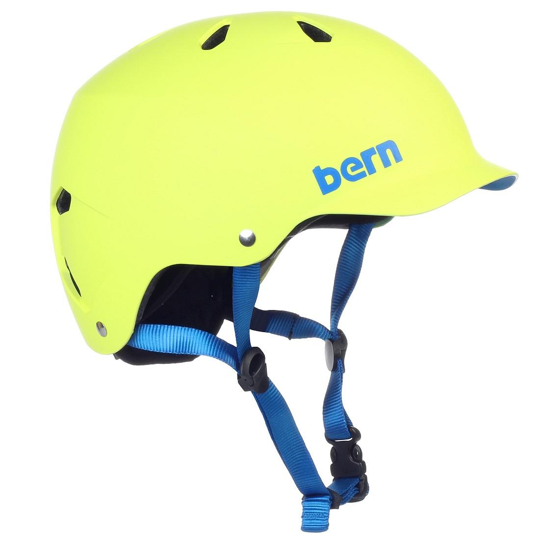Bern helma Watts matte neon yellow uni Velikost: XL
