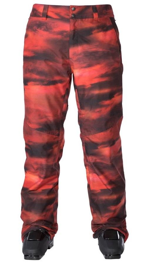Armada kalhoty snow GATEWAY PANT Red Resin 17/18 Velikost: M + doprava zdarma, sleva při registraci Doprava zdarma