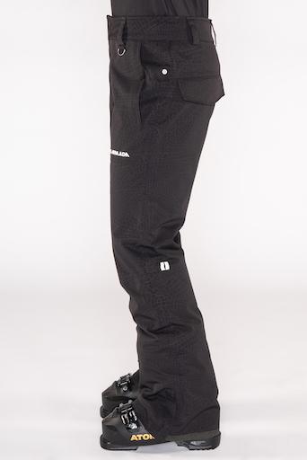 Armada dámské snow kalhoty Lenox Insulated Pant Black Floral Emboss 17/18 Velikost: S + doprava zdarma, sleva při registraci Doprava zdarma