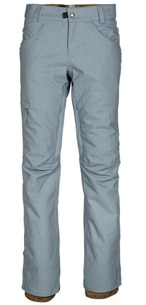 686 688 dámské kalhoty na snowboard AUTHENTIC Patron Insulated Pant Blue Denim 17/18 Velikost: S + doprava zdarma, sleva při registraci Doprava zdarma