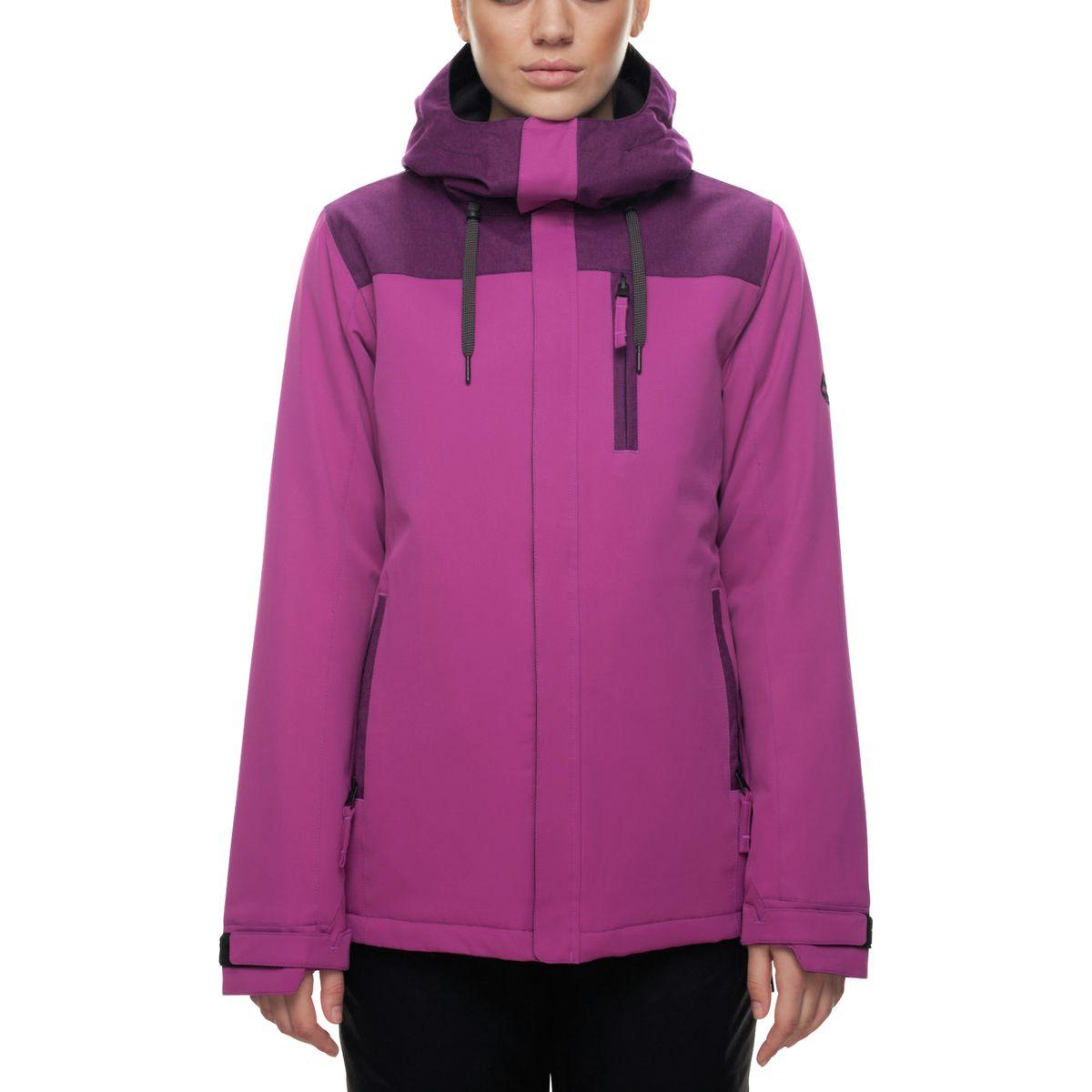 686 dámská zimní bunda Eden Insulated Jacket Fuchsia 17/18 Velikost: S Doprava zdarma