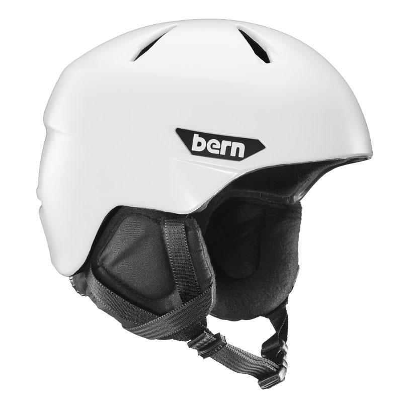 Bern zimní helma Weston satin White 17/18 Velikost: L + doprava zdarma, sleva při registraci