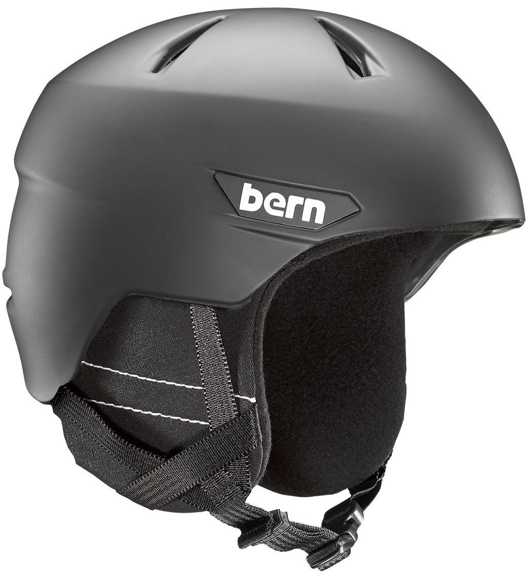 Bern zimní helma Weston matte black 17/18 Velikost: L + doprava zdarma, sleva při registraci