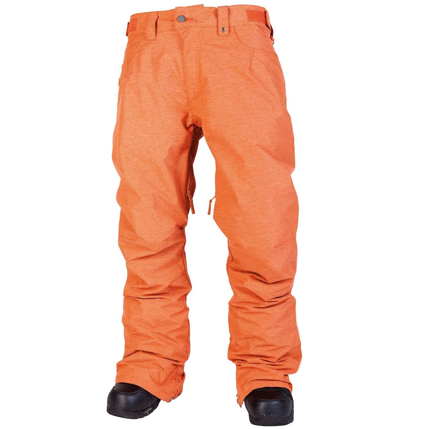 Nitro kalhoty na snowboard Slacker Orange Velikost: L Doprava zdarma