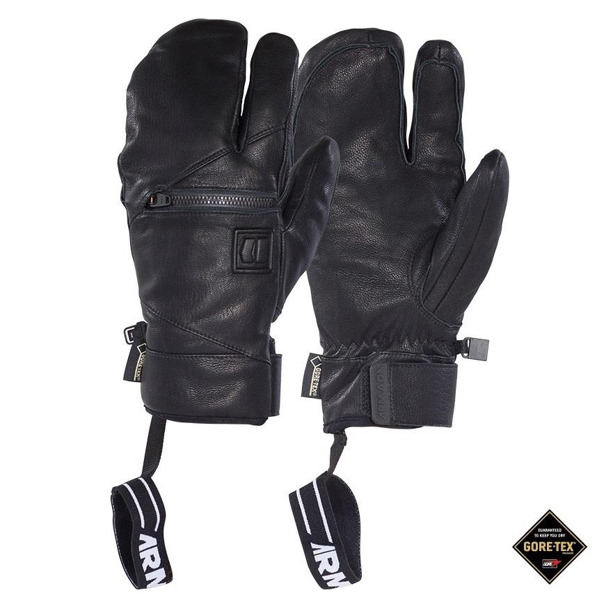 Armada zimní rukavice Helm Goretex Lobster Mitt black 15/16 Velikost: L