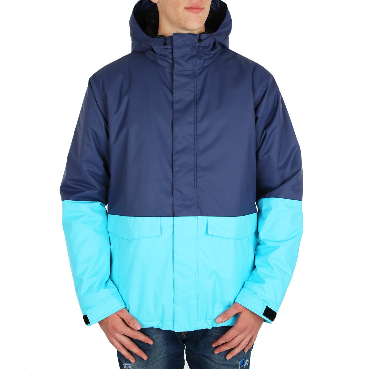 Funstorm pánská zimní bunda PERS cyan Velikost: L Doprava zdarma