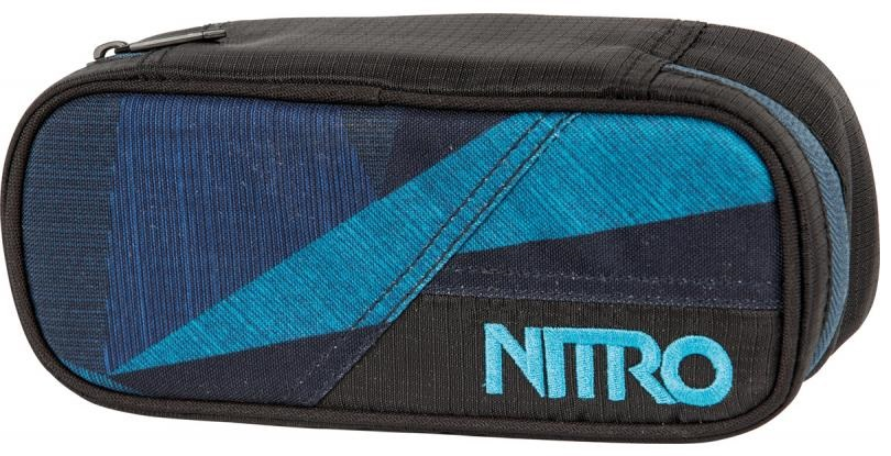 Nitro penál Pencil Case fragments blue