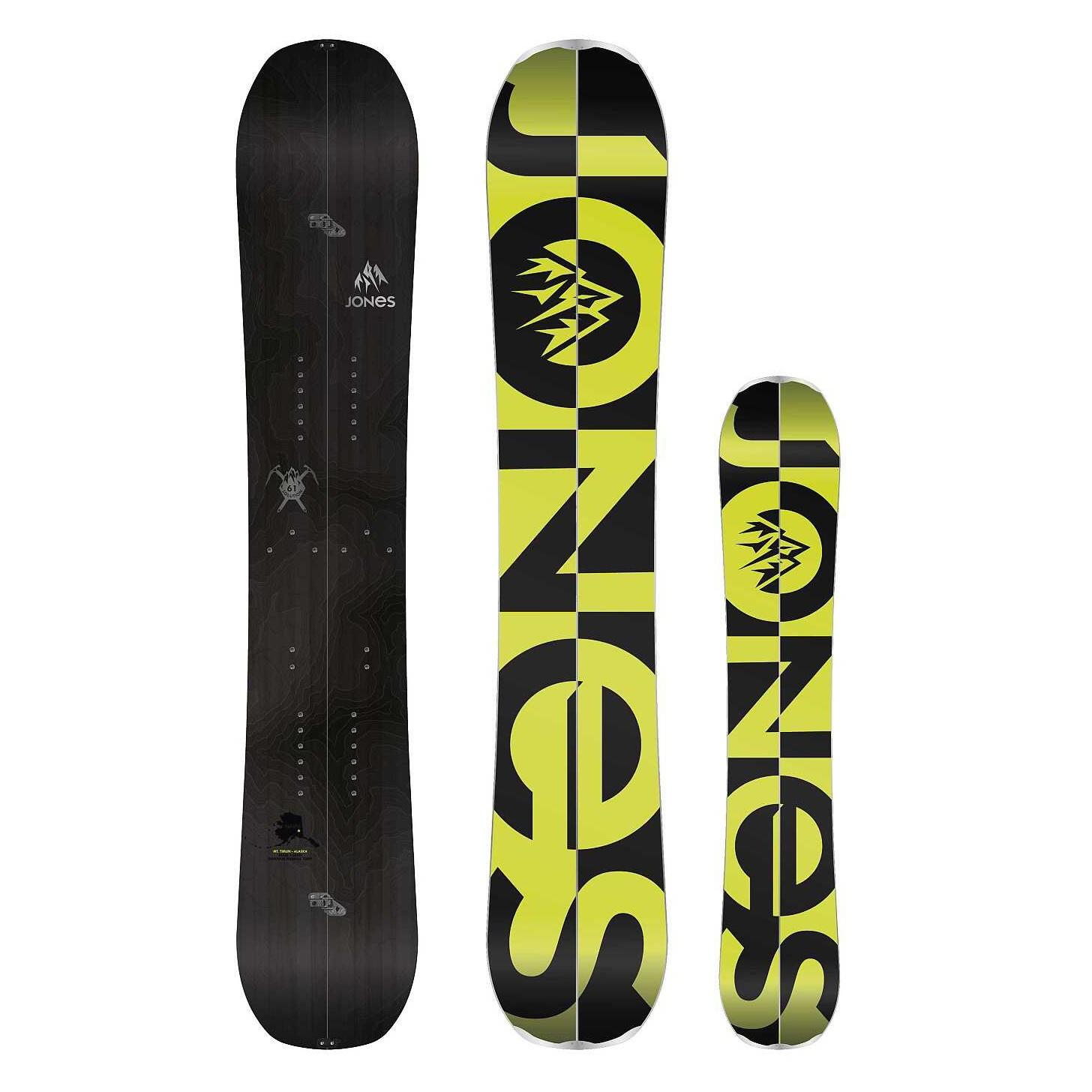 Jones Snowboards Jones splitboard Solution 14/15 158