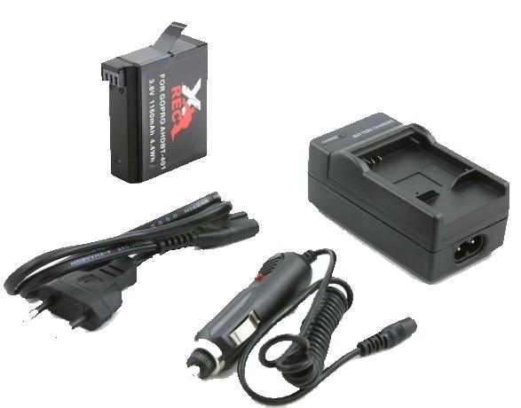 Nabíječka all in one GoPro Hero 4 + baterie pro GoPro Hero 4