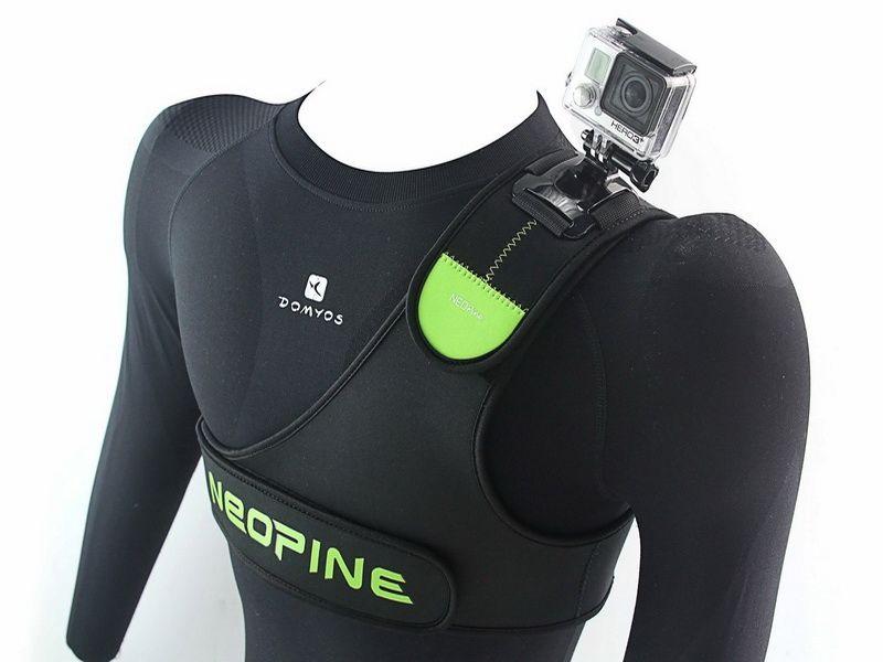 Držák na rameno Shoulder pro GoPro, AEE, SJ4000 / SJ5000