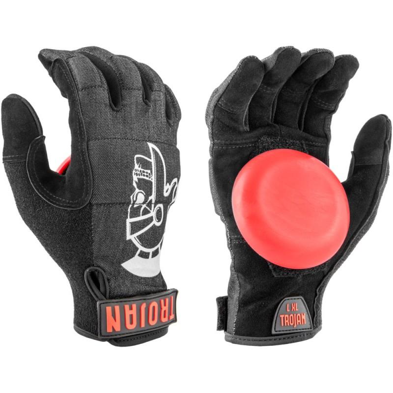 Madrid rukavice na longboard Trojan Denim Disaster Glove city slicker black L/XL
