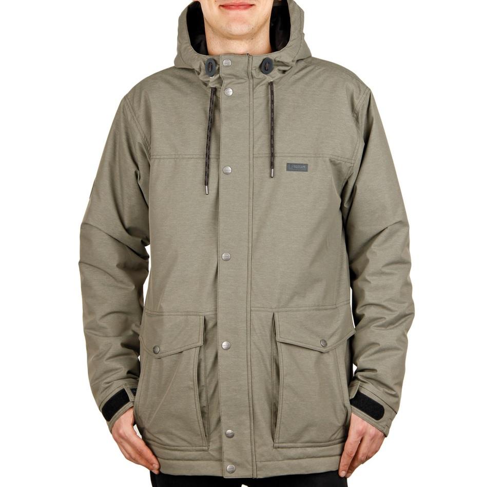 Funstorm pánská zimní bunda Kirt khaki Velikost: XL Doprava zdarma