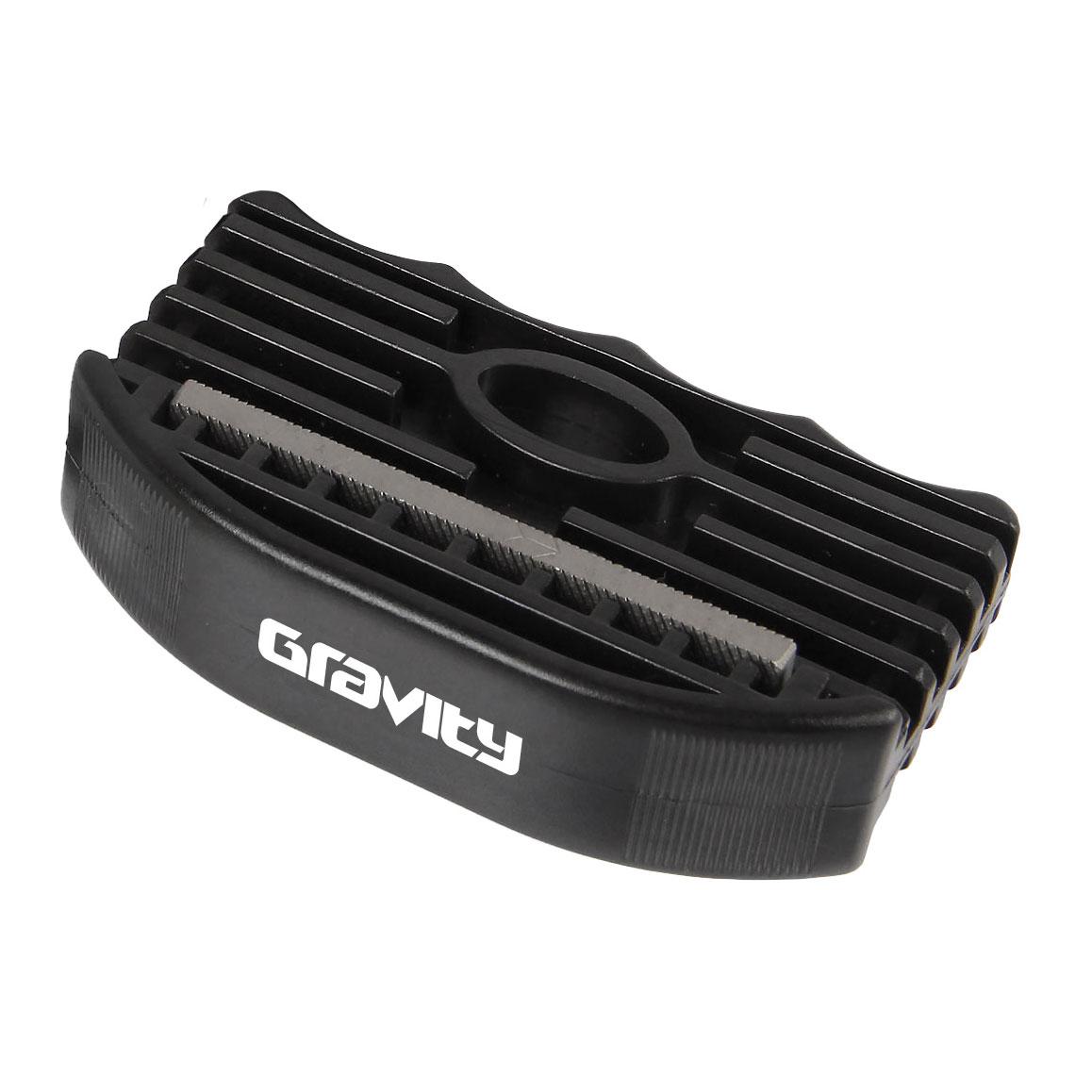 Gravity brousek na snowboard Edge tuner black