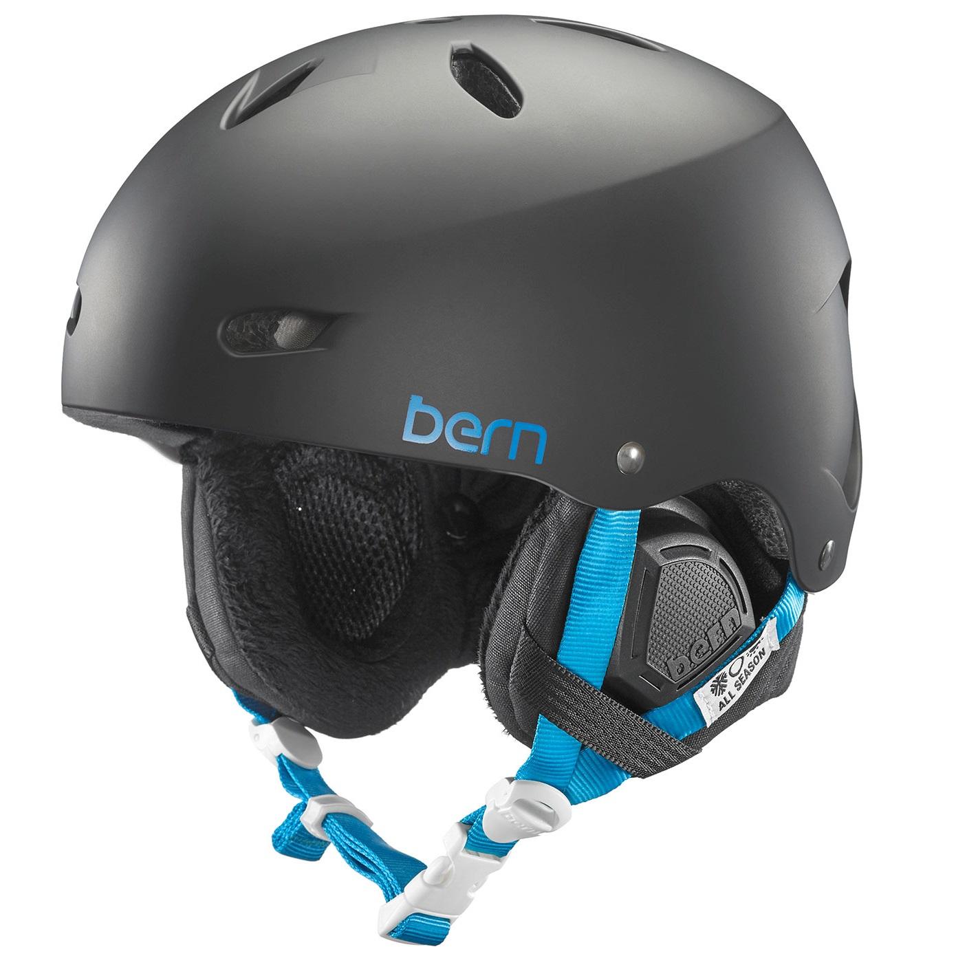 Bern dámská zimní helma Brighton matte black 15/16 Velikost: M/L