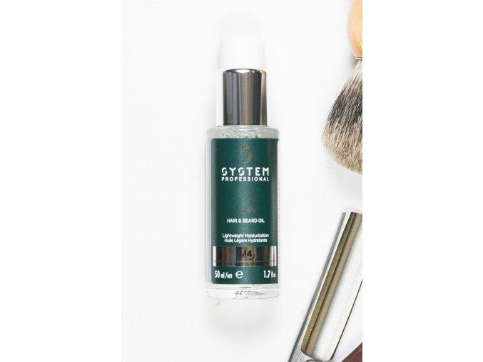 M4-Oil Hair and Beard 50ml