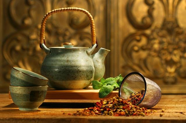 Historie čaje