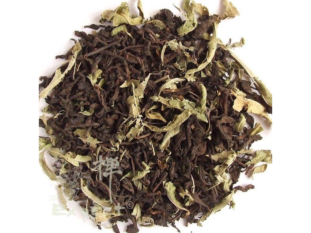 Čaj Pu Erh Verbena_tmavý typ