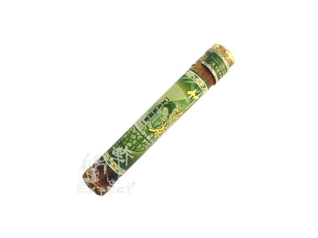 Čaj Pu erh yunnan Ming Cha bamboo zelený typ/shu-raw 200g