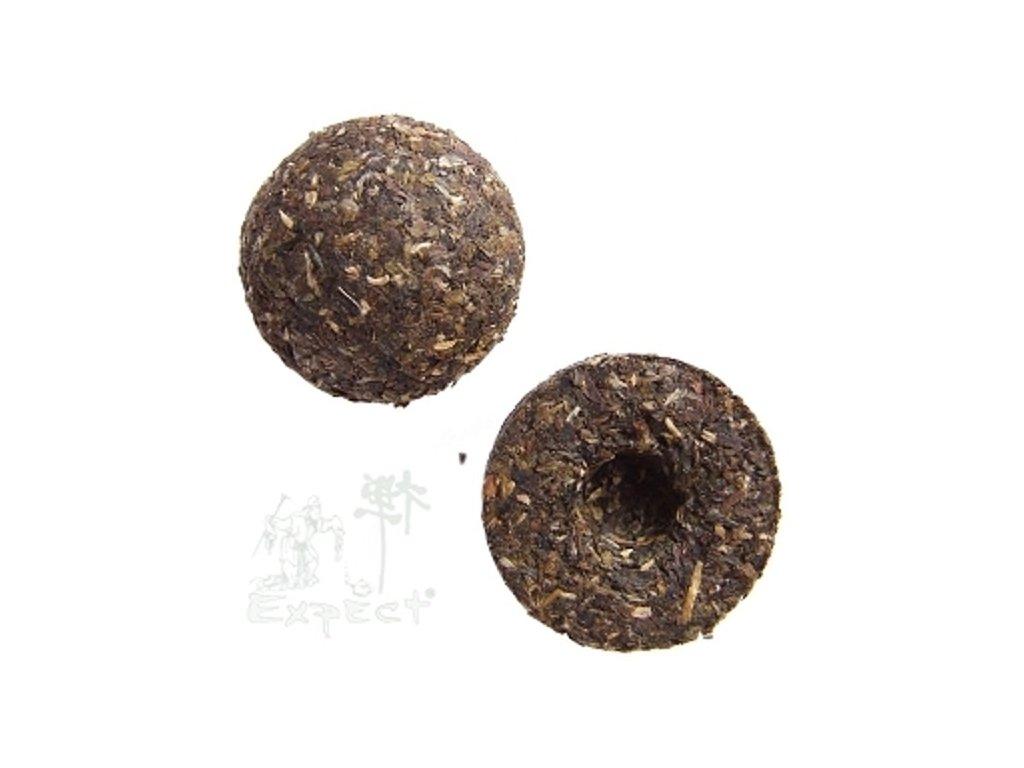 Čaj Pu erh mini tuo cha Barley zelený typ, shu/raw