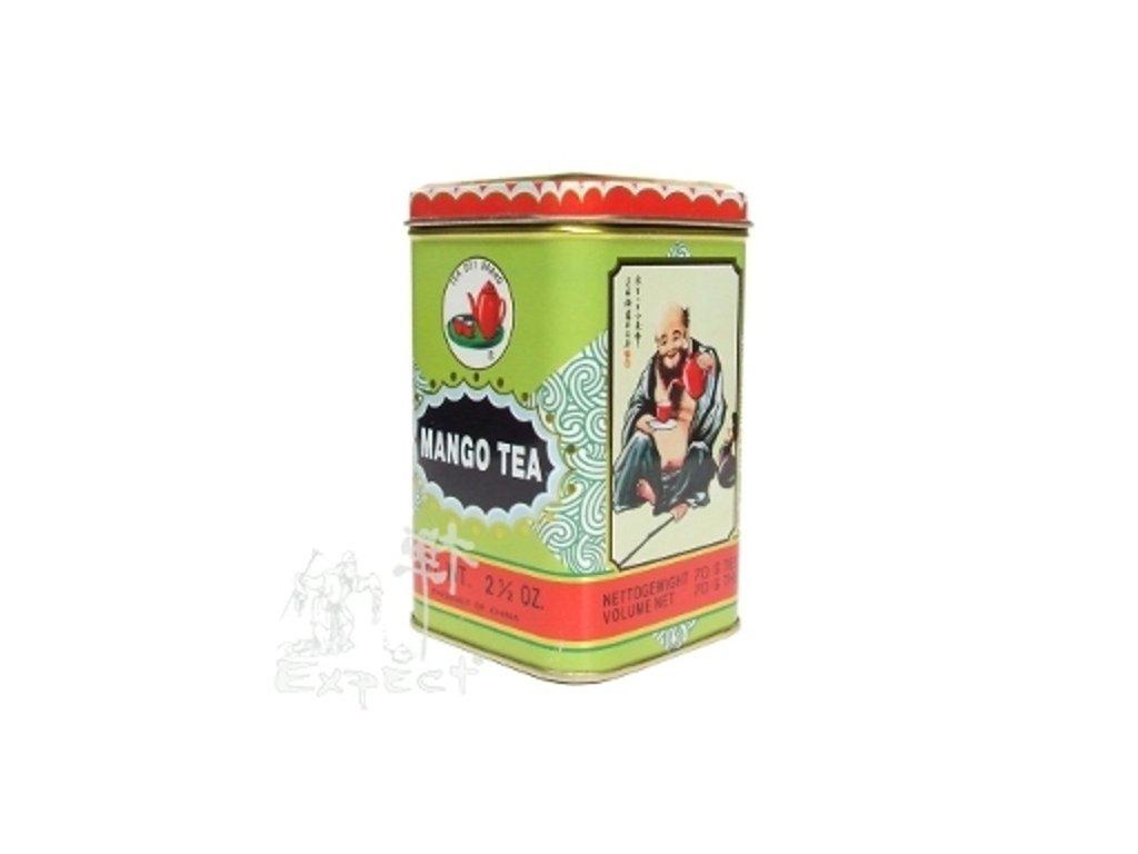 Aromatizovaný čaj Mangový krém black 70g
