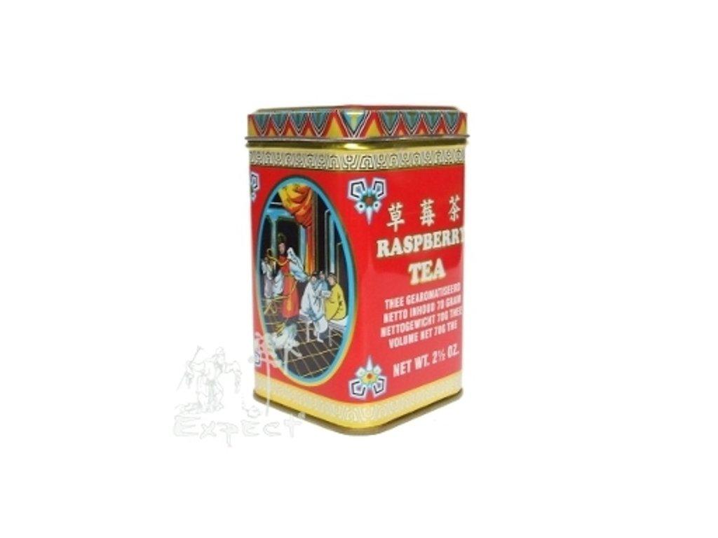 Aromatizovaný čaj Malinový krém black 70g