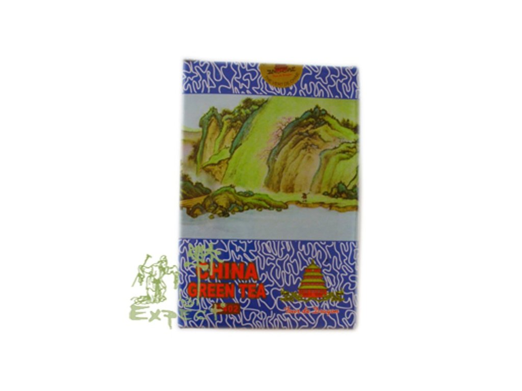 Zelený čaj Chun Mee /papír hranatá 300g