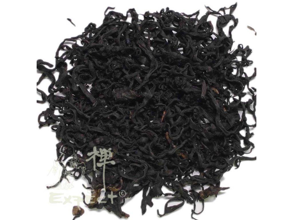 Aromatizovaný čaj Grusia Guria black s borůvkovým listím