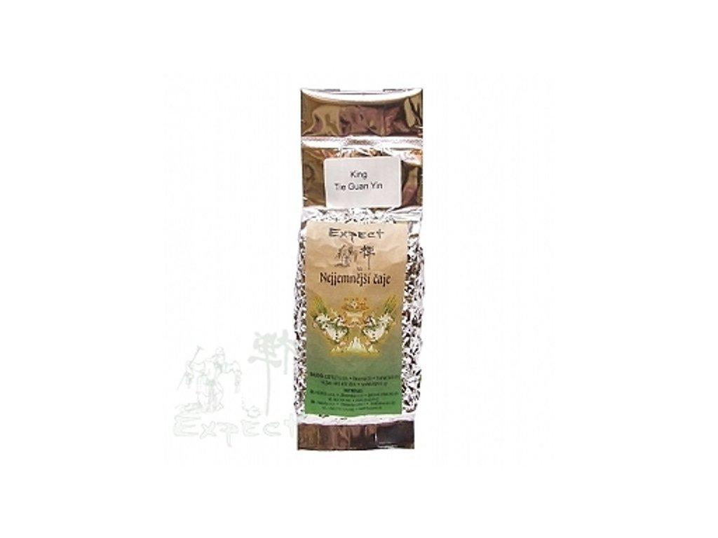 Polozelený čaj Tie Guan Yin King 100g