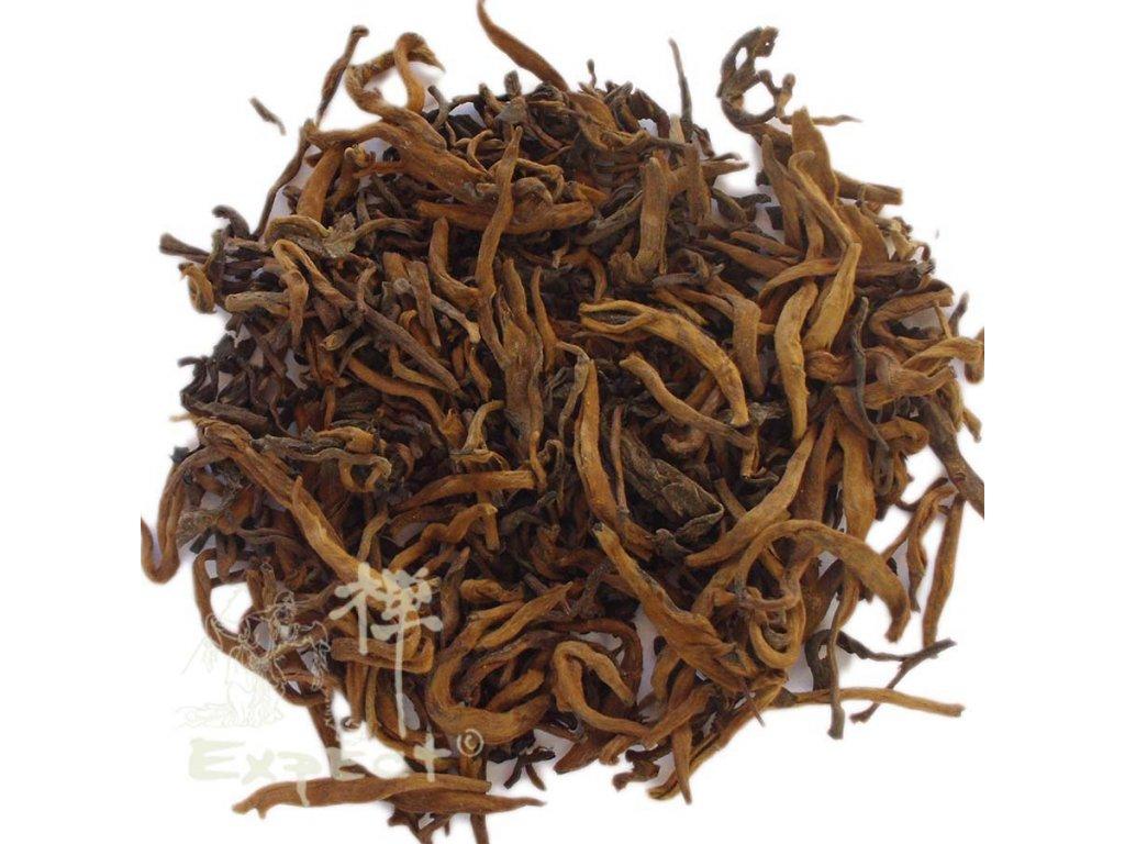 Čaj pu erh Yunnan Pu Erh Golden tips_tmavý typ