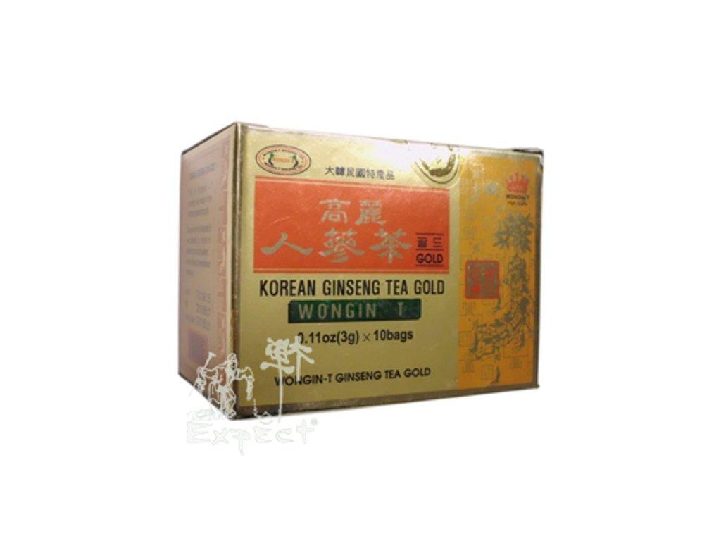 Korejský Ženšen Gold instantní/ 10x3g krabička