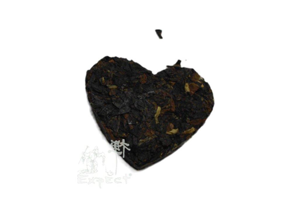 Čaj Pu Erh heart_tmavý typ 2g
