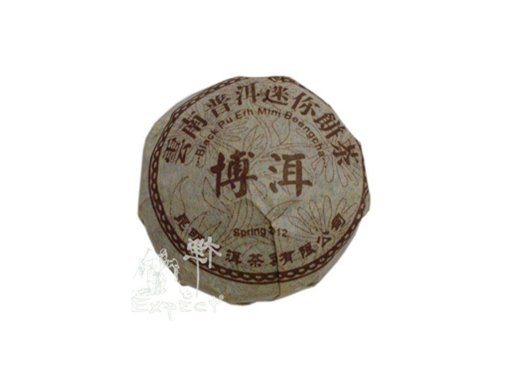 Čaj Pu Erh China Pu Erh Ming Qiang 2016 mini Beeng Cha cca 9g_tmavý typ