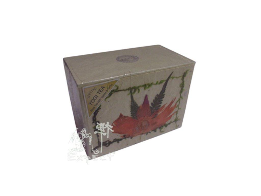 Nepal Yogi tea/rýžová krabička black 100g