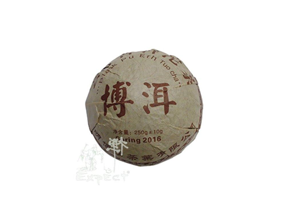 Čaj Pu Erh Yunnan Pu Erh Ming Qinag Tuo cha_tmavý typ_2016_250g