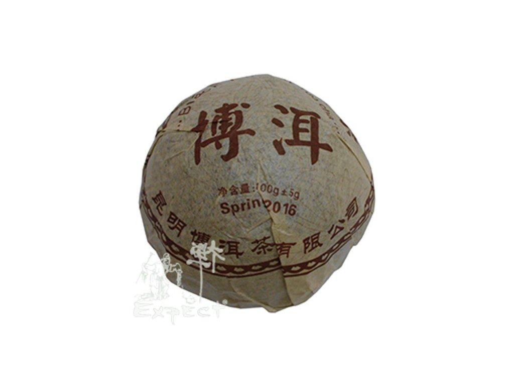 Čaj Pu Erh Yunnan Pu Erh Ming Qiang tuo cha tmavý typ 2016_100g
